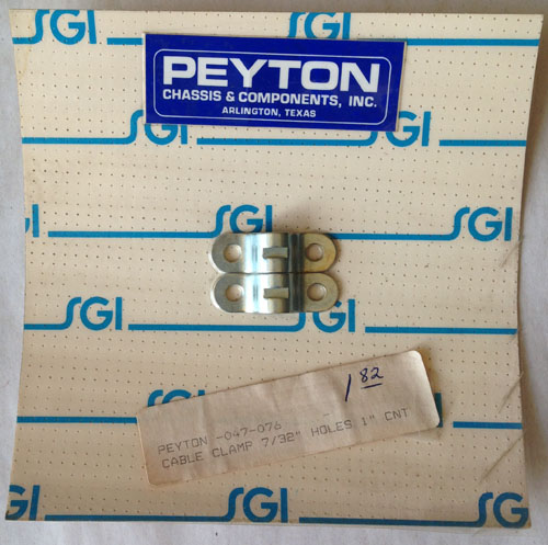 Peyton #047-076 Cable Clamp
