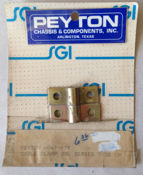 Peyton #047-079 Cable Clamp
