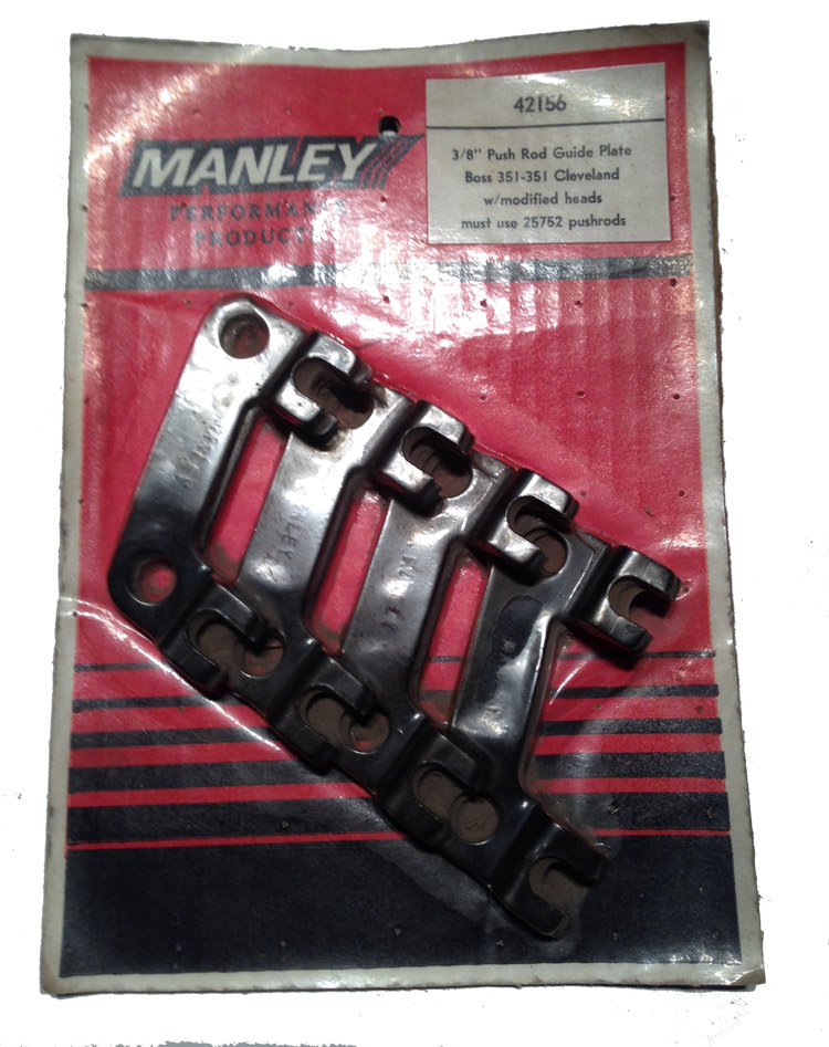 Manley Push Rod Guide Plates