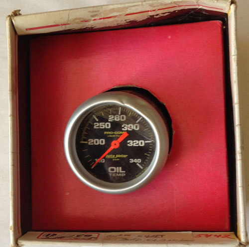 Auto Meter Oil Temp Gauge #5442