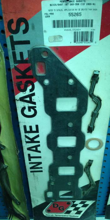 Detroit Performance Intake Gaskets #55265