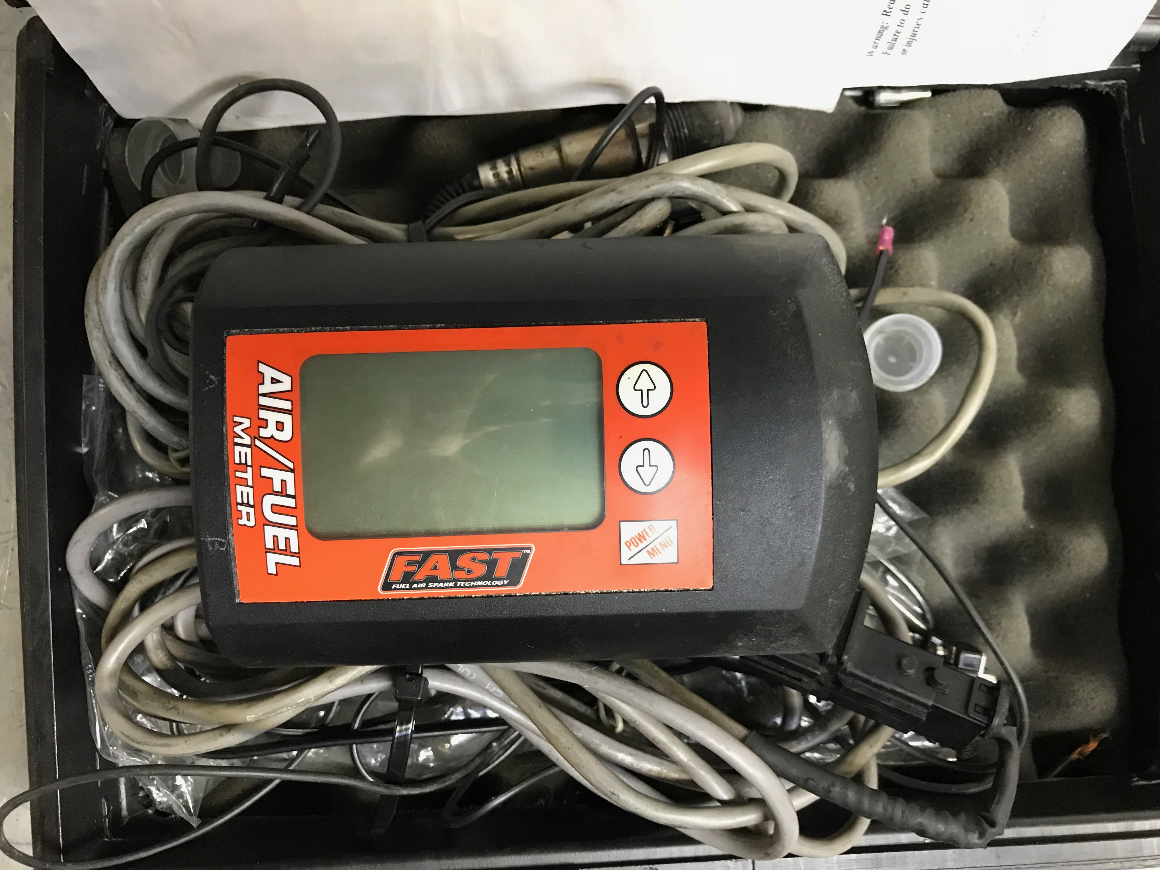 FAST Gasoline Air/Fuel Meter