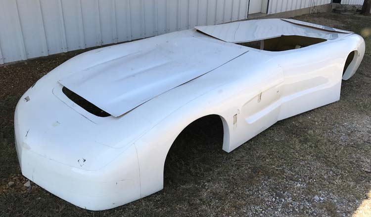 Suncoast Corvette Body